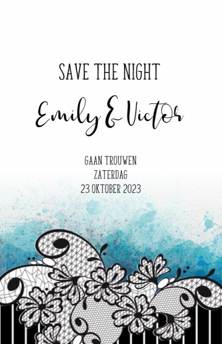 Save the date - Tim Burton 1 voor