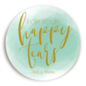 Sticker Happy Tears Watercolor Mint voor