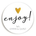 Sticker Enjoy 1 voor