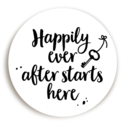 Sluitsticker Happily Ever After