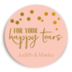 Sticker Happy Tears Roze